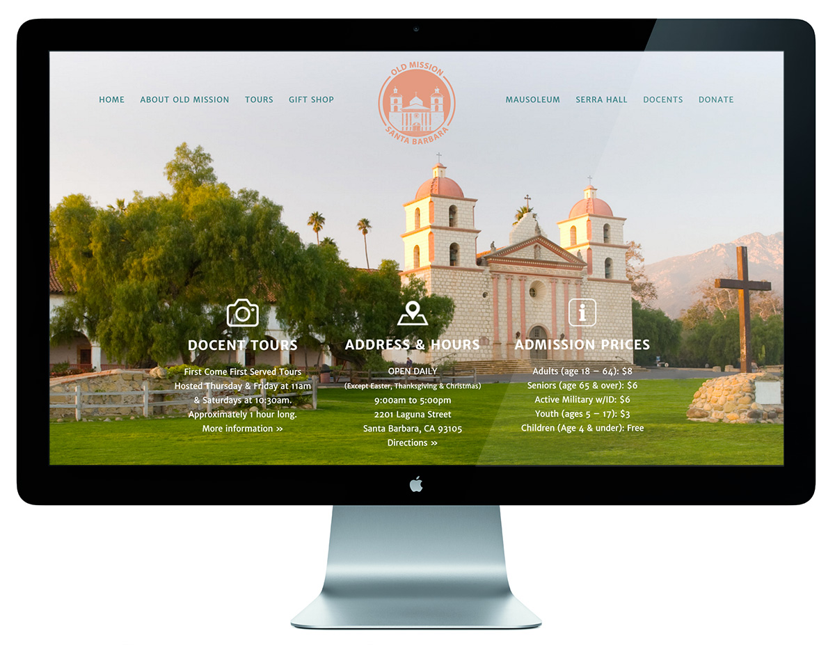 Old Mission Santa Barbara Web Design Company