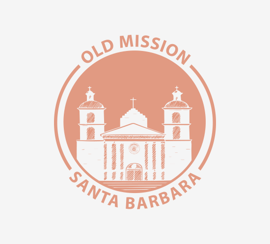 Old Mission Santa Barbara logo
